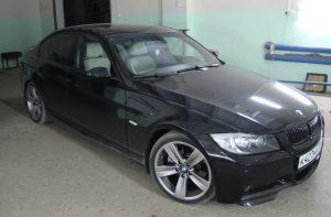 Виброизоляция и Шумоизоляция BMW 3 e90