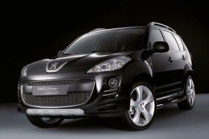 Шумоизоляция Peugeot 4007