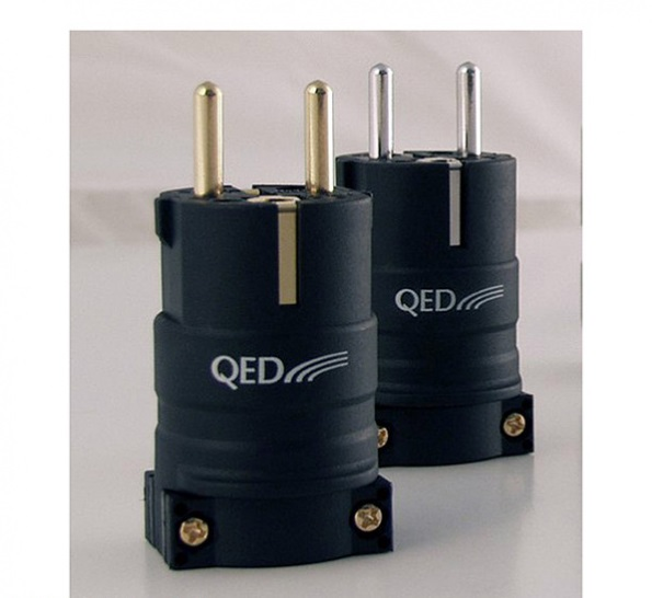 QED Performance Euro plug Gold