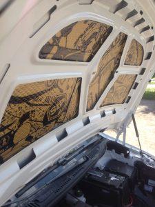 Виброизоляция и Шумоизоляция VW Сaddy
