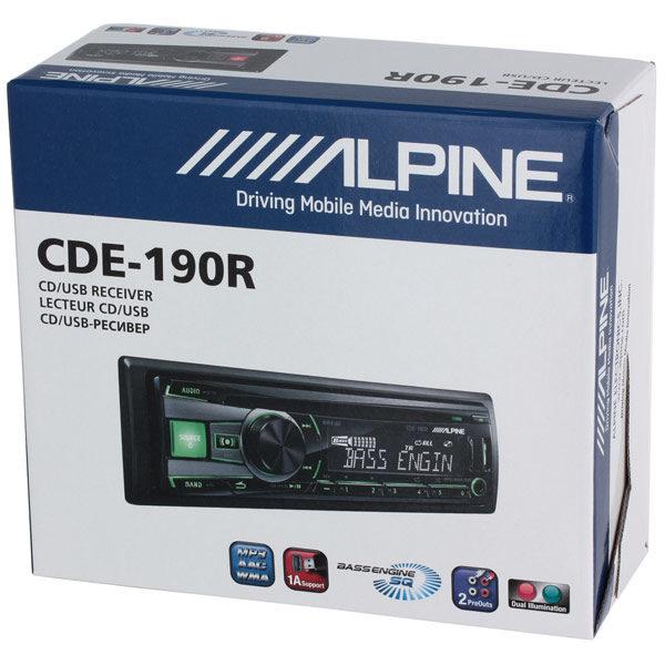 ALPINE CDE-190R5