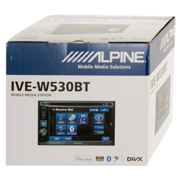 Alpine IVE-W530BT 5