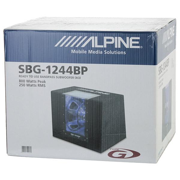 Alpine SBG-1244BP 5