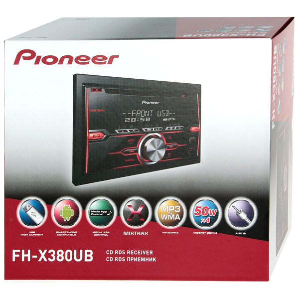 Pioneer FH-X380UB4