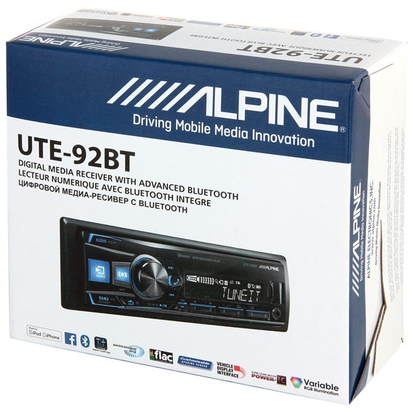 Alpine UTE-92BT5