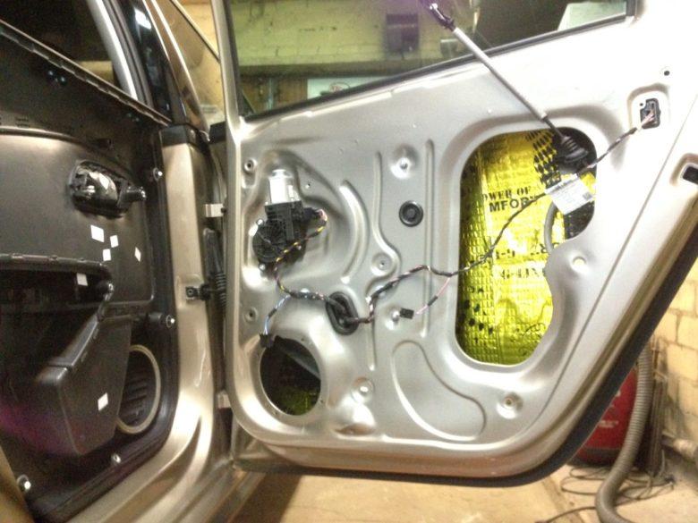Шумоизоляция VW
