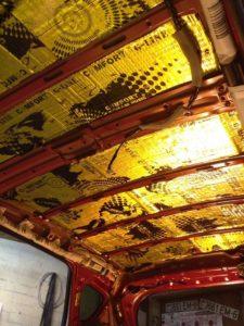 шумоизоляция Suzuki SX4 потолок