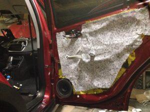 Шумоизоляция Suzuki SX4