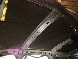 Шумоизоляция потолок Renault stepway